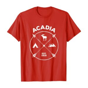 Acadia National Park Arrows T Shirt