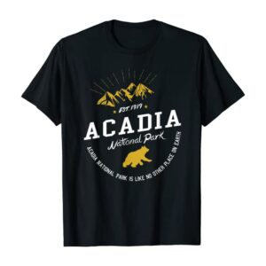 Acadia National Park Camp Shirt
