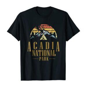 Acadia National Park Campfire Shirt