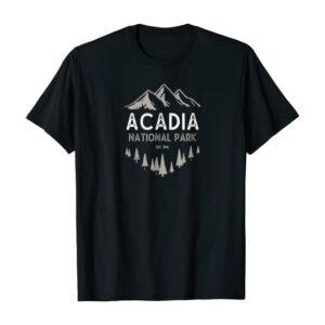 Acadia National Park Est 1916 T Shirt