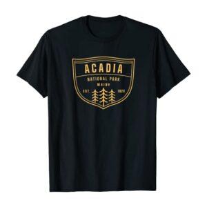 Acadia National Park Maine Shirt