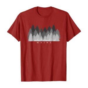 Acadia National Park Maine Souvenir T-Shirt
