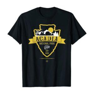 Acadia National Park NPS Badge Shirt