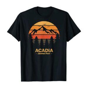 Acadia National Park Retro Shirt