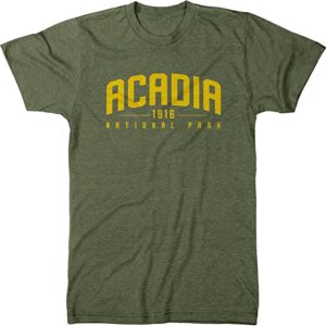 Acadia National Park Script Shirt
