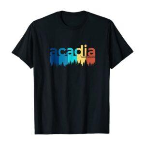 Acadia National Park Stripes Shirt