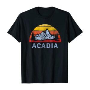 Acadia National Park Sunset T Shirt