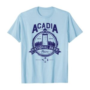 Acadia National Park T Shirt Maine