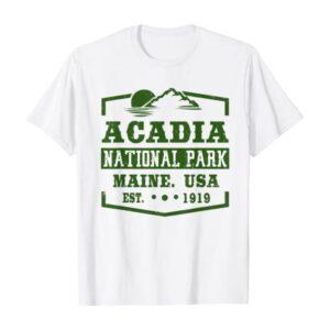 Acadia National Park Wanderlust Shirt