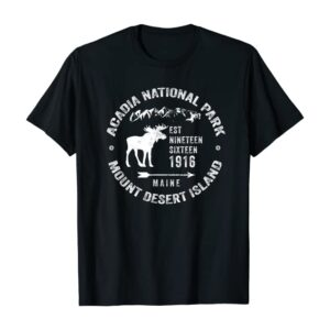 Acadia NP Mount Desert Island Shirt