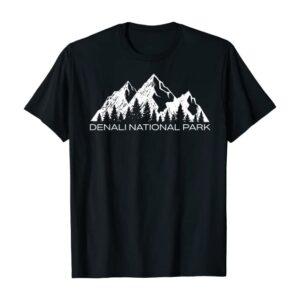 Denali National Park Peaks Shirt