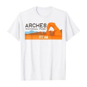 Arches National Park Explore T Shirt