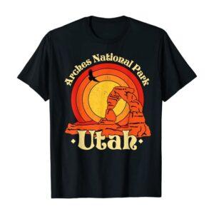 Arches National Park Utah State Shirt