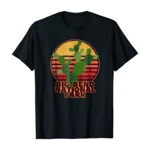 Big Bend National Park Cactus Shirt