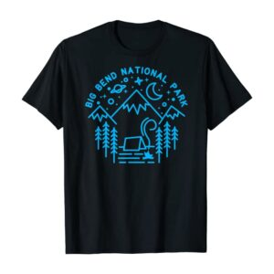 Big Bend National Park Camping T Shirt