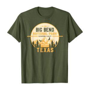 Big Bend National Park Peaks Shirt