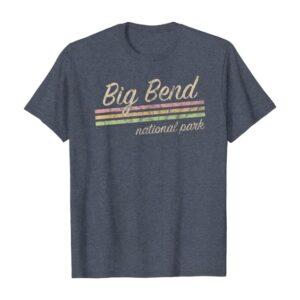 Big Bend National Park Retro T Shirt