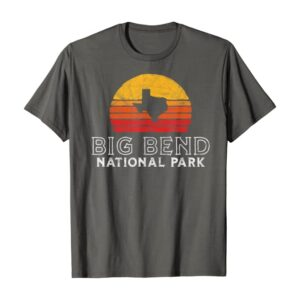 Big Bend National Park Texas Outline Shirt