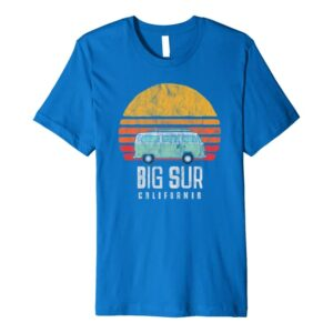 Big Sur California Hippie Van Shirt