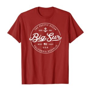 Big Sur Nautical T Shirt