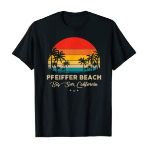 Big Sur Pfeiffer Beach Sunset Shirt