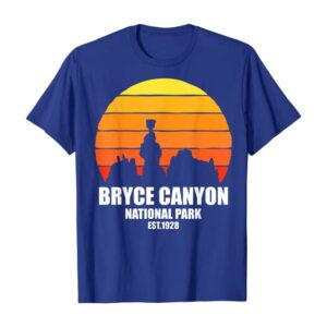 Bryce Canyon National Park Retro Hoodoos Shirt