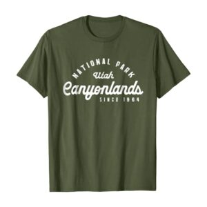 Canyonlands National Park Emblem Arch Shirt
