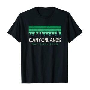 Canyonlands National Park Green Stripes Shirt