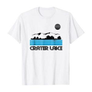 Crater Lake Lines Shirt