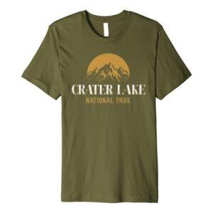 Crater Lake National Park Camping Shirt