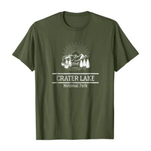 Crater Lake National Park Sunrise Shirt