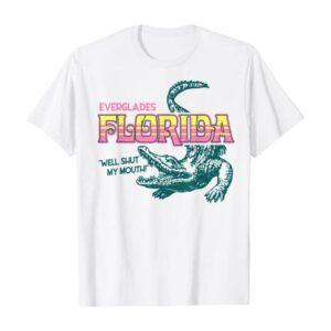 Everglades Florida Vintage T-Shirt