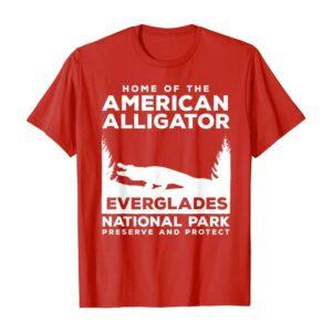 Everglades Home of the Alligator Shirt