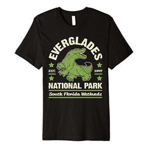 Everglades National Park Alligator Shirt