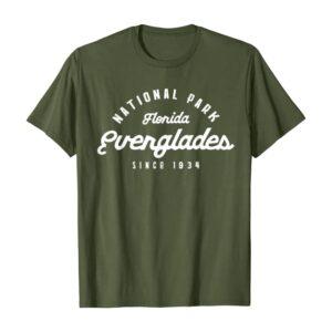 Florida Everglades National Park Shirt