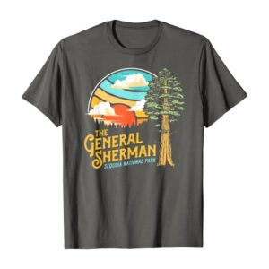 General Sherman Sequoia National Park Retro Shirt