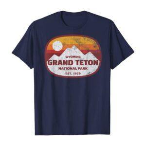 Grand Teton National Park Distressed Shirt