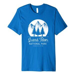 Grand Teton National Park Wyoming Shirt