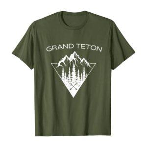 Grand Teton NP Mountains Shirt