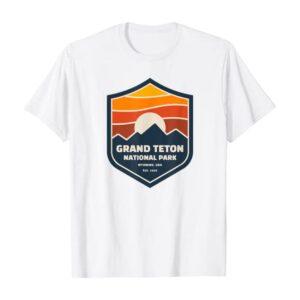 Grand Teton Retro Logo Shirt