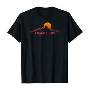 Grand Teton Wyoming Sunset Shirt