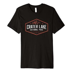 Crater Lake Emblem T Shirt