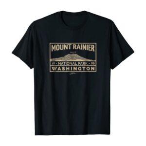 Mount Rainier National Park 1899 Shirt