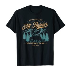 Mount Rainier National Park Bear Shirt