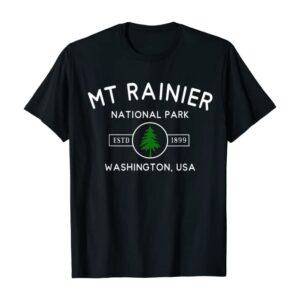 Mount Rainier National Park Tree Shirt
