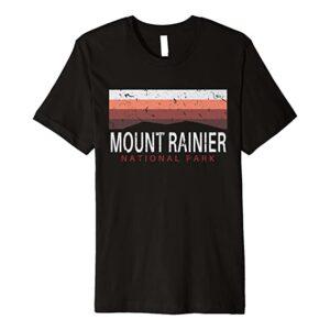Mount Rainier National Park Washington Haze Shirt