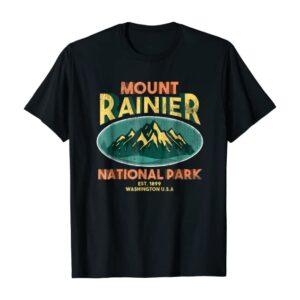 Mount Rainier National Park Washington Mountains T Shirt