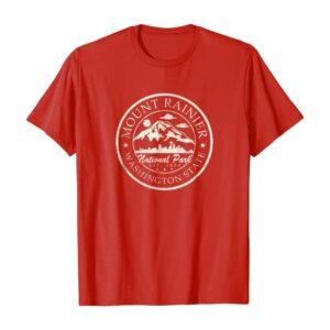 Mt Rainier National Park Retro Shirt