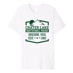 Oregon Crater Lake National Park Logo Shirt