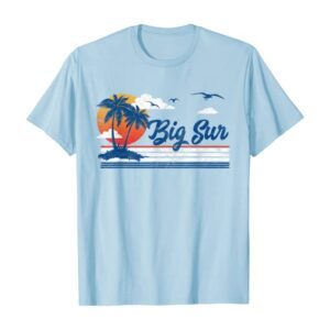 Retro Big Sur Hippie Sunset Shirt